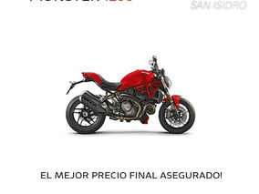 Ducati Monster 1200 S - 1er Service S/c + Funda-san Isidro