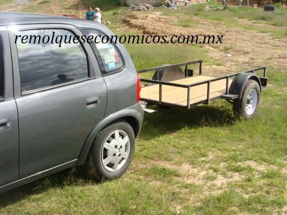 Remolque Nuevo Con Serie 500 Kilos