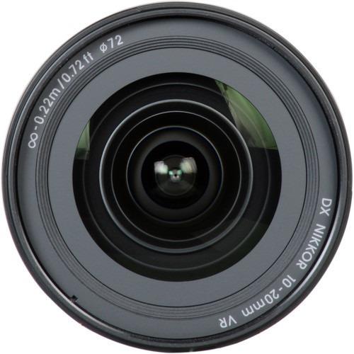 Lente Nikon Af-p Dx Nikkor 10-20mm F/4.5-5.6g Vr Garantia Novo