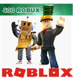 Recargar 400 Robux (roblox)