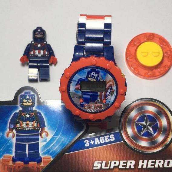 Relógio Super Hero Para Crianças Promoção Barato
