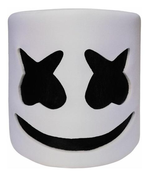 Mascara/ Casco/ Cabeza Marshmellow Disfraz Marshmello Dj