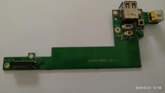 Placa Power Jack E Usb Para Notebook Acer Aspire 5050