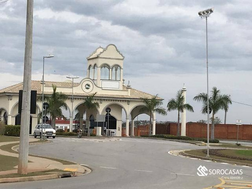 Imagem 1 de 9 de Terreno À Venda, 250 M² Por R$ 298.000,00 - Condomínio Ibiti Reserva - Sorocaba/sp - Te1037