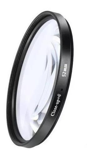 Filtro Macro Close Up +1 +2 +4 37mm 40.5 43 46 49 52 55 58mm