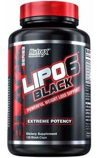 Lipo 6 Black Importado Nutrex