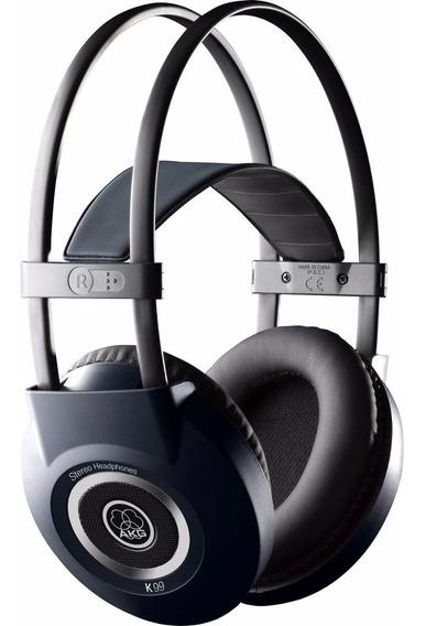 Fone Headphone Over-ear Akg K-99 Perception (nf+garantia)