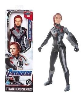 Avengers Endgame Titan Hero Black Widow Hasbro - 4kids
