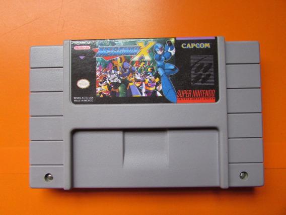 Megaman X Original Para Super Nintendo (relabel)