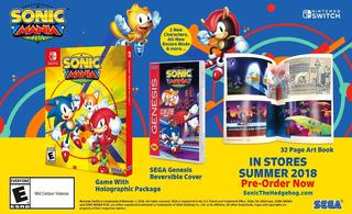 Sonic Mania Plus - Switch De Nintendo