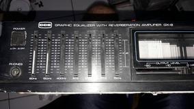 Equalizador E Reverberation Cce Gx8.