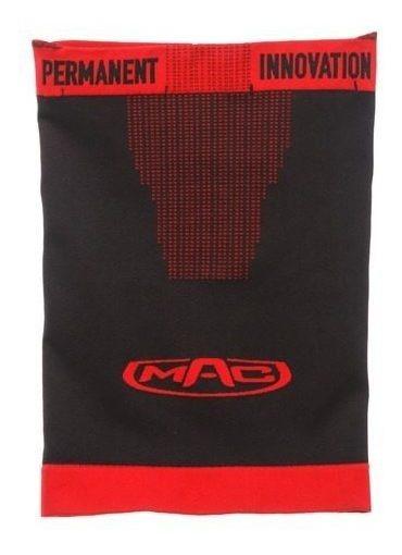 Buff Cuello Mac Moto Microfibra Router Negro Rojo