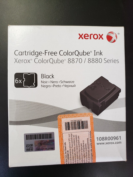 Cera Xerox 8870/8880 Black 108r00961 Original Selo Xerox