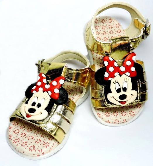 Sandália Minie Mickey Baby Kids - Fotos 100% Reais