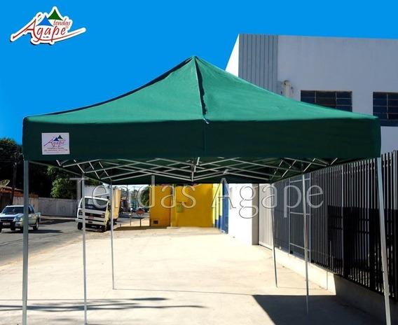 Tenda Super Forte 3x3 Sanfonada Pvc