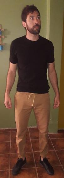 Jogger Hombre Elastizado Pantalon Be Yourself