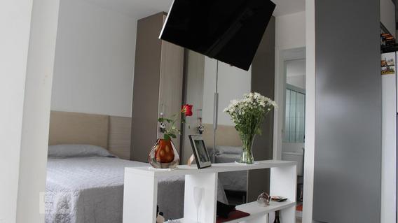 Apartamento Para Aluguel - Chácara Santo Antonio, 1 Quarto, 37 - 893021333