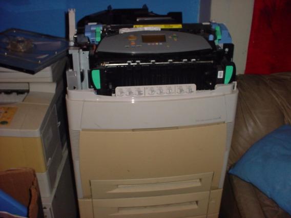 Impresora Hp Color Lasejet 5550 Hdn Usada Para Repuesto