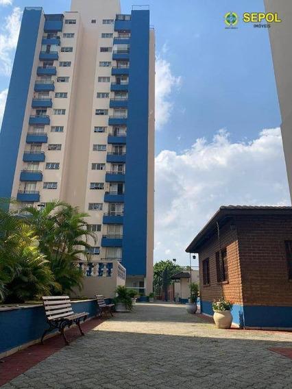 Apartamento Com 2 Dormitórios Para Alugar, 50 M² Por R$ 1.100,00/mês - Jardim Imperador (zona Leste) - São Paulo/sp - Ap0595