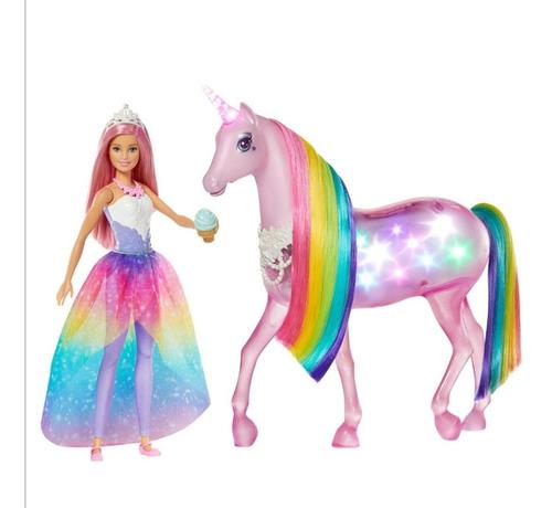 Barbie Unicornio Luces Magicas