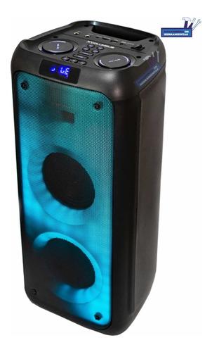 Imagen 1 de 3 de Parlante Amplificador De 5400mah Control Remoto Led Colu