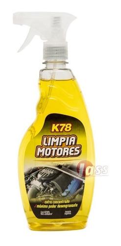 Limpia Motores Desengrasante De Motor K78 500cc Con Gatillo