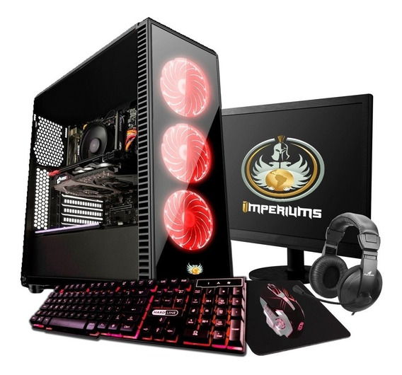 Pc Completo Gamer Amd A4 6300 4.0 + Kit Gamer Frete Gratis!