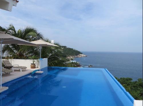 Imagen 1 de 20 de Hermosa Casa Con La Mejor Vista En Acapulco