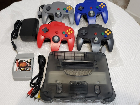 Nintendo 64 N64 + 4 Controles + 007 Goldeneye Ou Cruis World