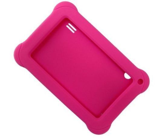 Clase P/ Tablet 7 Emborrachada Pr937 Kid Pad Rosa