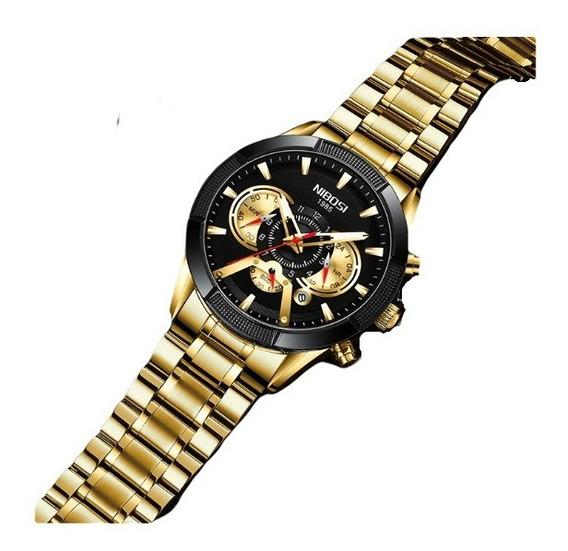 Relógio Nibosi Masculino Lançamento 2020 Exclusivo
