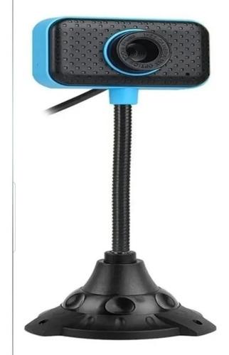 Camara Web Cam Soporte 640 X 480 Usb Microfono Incorp