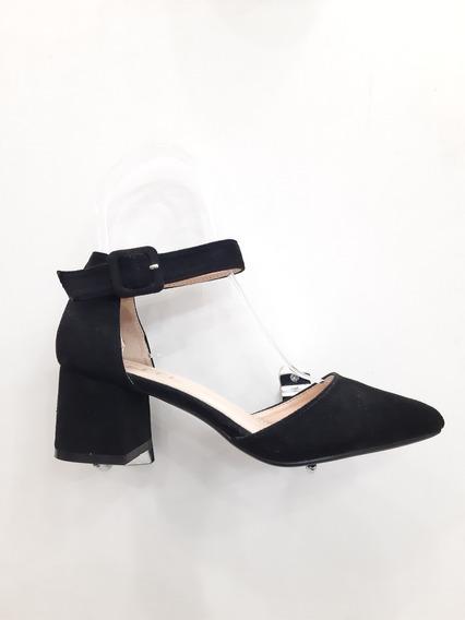 Zapatos Con Taco Bajo Moda 2018