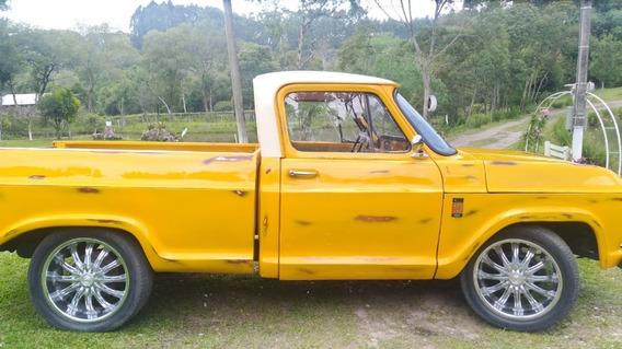 C-10 1975 Gasolina, Aceito Carro Ou Moto Até 10.000