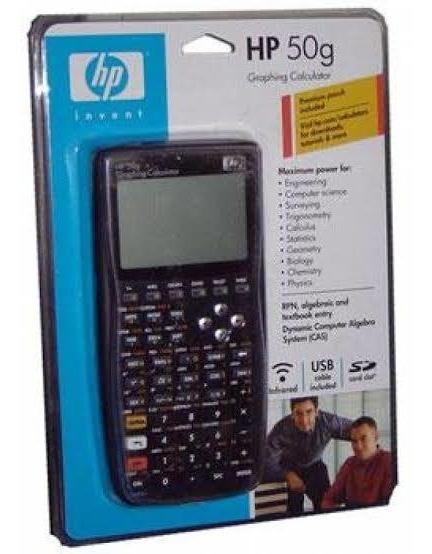 Calculadora Gráfica Hp 50g Conservada C/garantia De 1 Ano!!!
