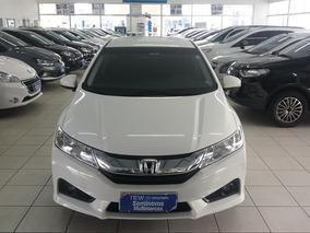Honda City 1.5 Ex Flex Aut. 4p Branco