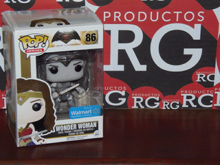 Pop! Heroes -batman V Superman - Wonder Woman Exclusive *