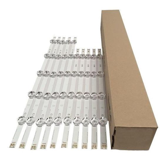 Kit Barra De Led Lg 49lb5500 49lb6200 49lf5500 49lf6200 C/10