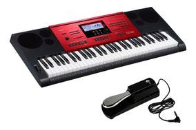 Teclado Musical Casio Ctk6250 61 Teclas 6250 + Pedal Sustain