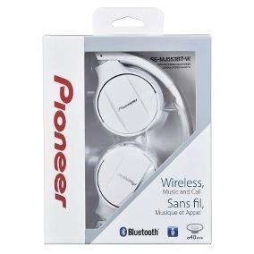 Fone Ouvido Pioneer Bluetooth Wireless Se-mj553bt-w
