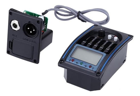 Eqlc-5 5-band Eq Equalizador Sistema Viol?o Preamp Captador