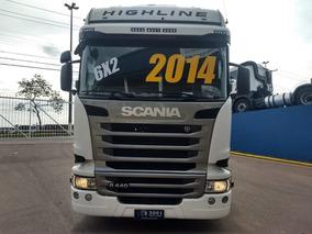 Scania R 440 Highline 6x2 Ano 2014