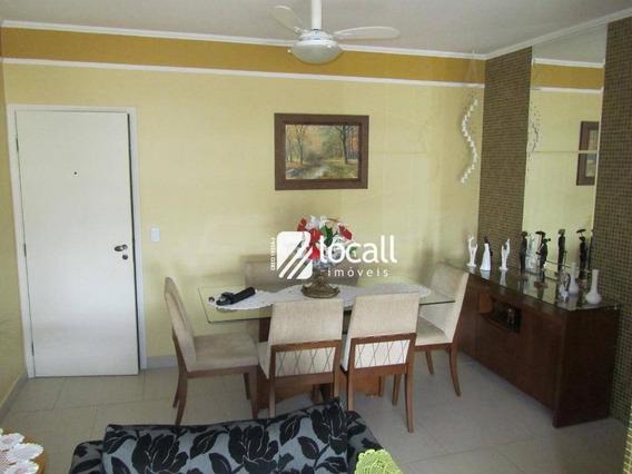 Apartamento Com 3 Dormitórios À Venda, 97 M² Por R$ 420.000 - Bom Jardim - São José Do Rio Preto/sp - Ap1719