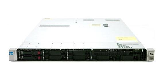 Servidor Hp Proliant Dl360 G8 - Xeon E5-2609 2tb Sata - 64gb