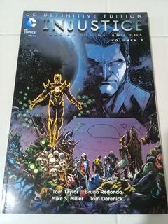 Dc Definitive Edition Injustice Año 2, Volumen 2 - Dc Mexico