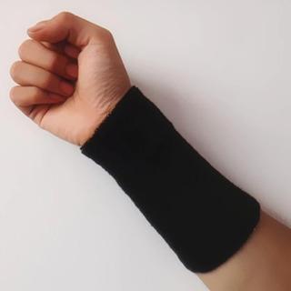 Munhequeira Proteção Puls Toalha Grande Pulso Algodão 15cm