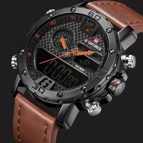 Relógio Masculino Esportivo Militar Naviforce Luxo Promoção
