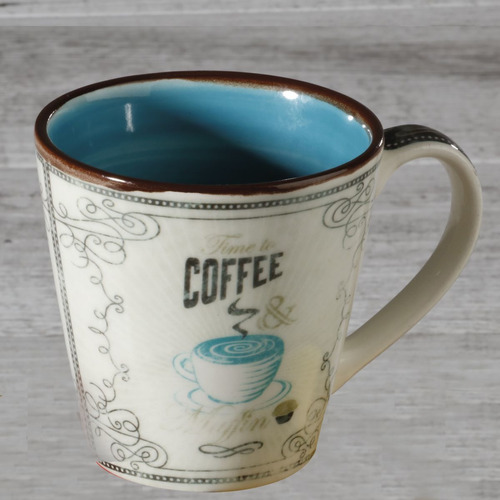 Mug 405ml Coffee And Muff