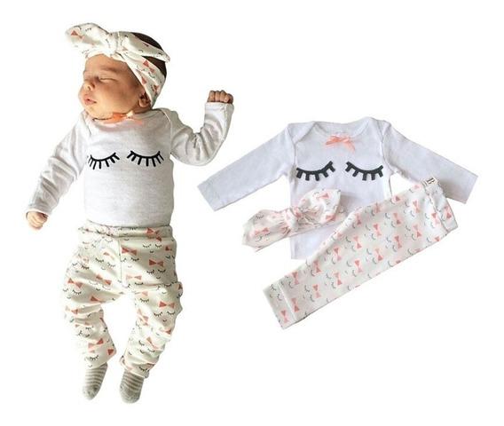 Vestidos Para Bebé Niña Recién Nacidos Conjuntos Bebés Ropa