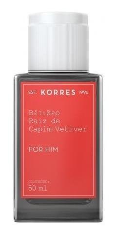 Raíz Capim-vetiver Korres Masculino - Eau De Cologne - 50ml